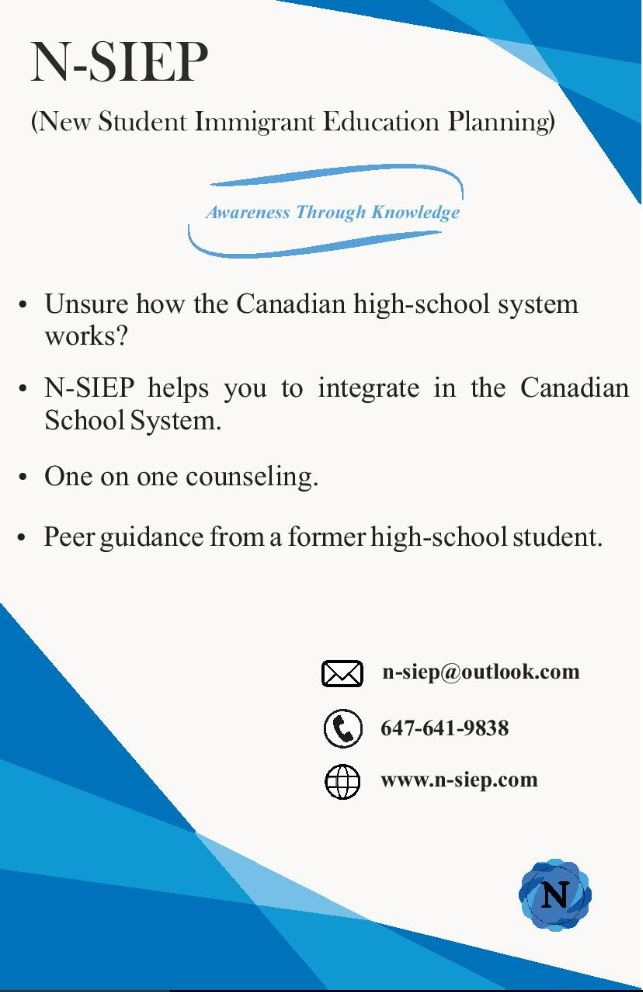 Flyer Page